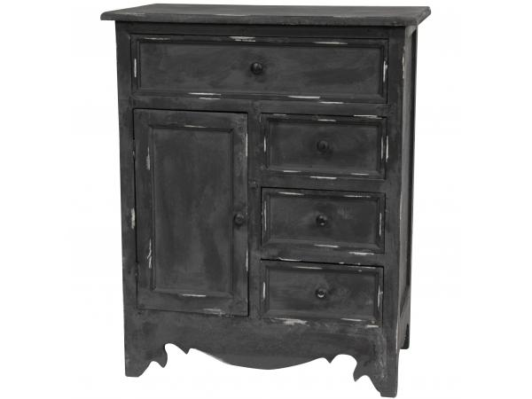 home furniture cabinets distressed matte black cabinet