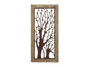 Garden Trees Wall Plaque